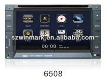 6.2'' Universal Car DVD with Radio, RDS, TV, iPOD,SD,USB, steering wheel control, rear view camera input,etc DE6528