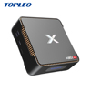 Topleo OEM ram rom 4GB 64 GB 4GB 128GB A95X MAX S905X2 Quad-core 1080p full hd tv box android 8.1 4k