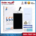 Wholesale price black and white color lcd touch screen assembly for iphon 5 , for iPho 5s screen