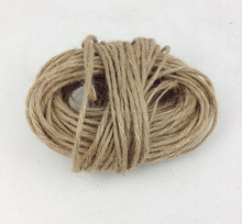 jute yarn twine six-stand plaited rope hemp cord