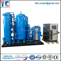 Gas oxygen plant via PSA Oxygen Generator for Welding Purity Sufficient