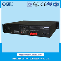 Alibaba export Audio IP amplifier,Sound Mixer Voltage Power Amplifier with Main server/work station