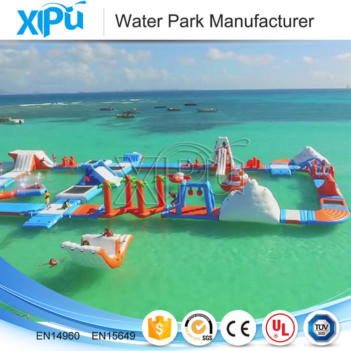 Portable water park equipment price , cheap inflatable water park