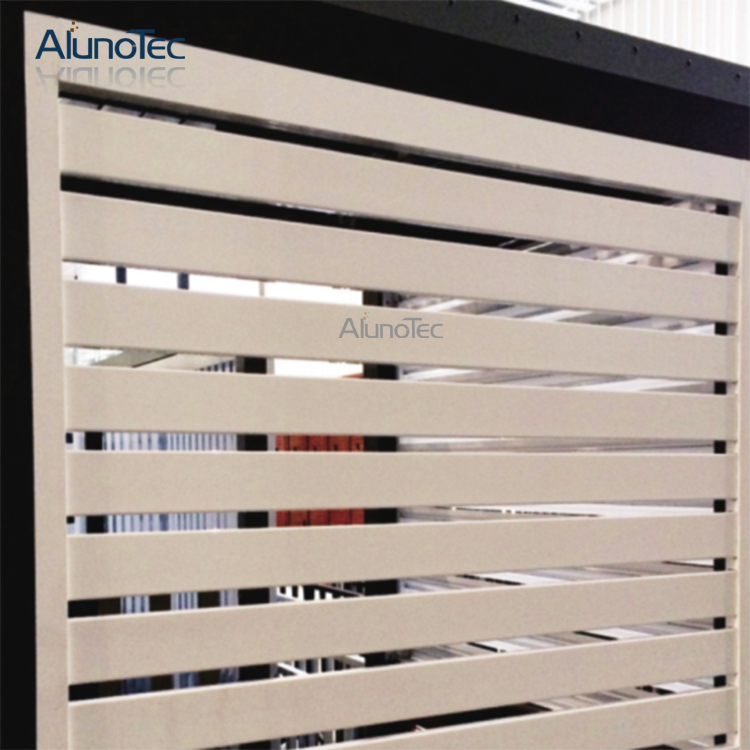 Aluminum Fixed Shutter Window Shutters With Operable Blade