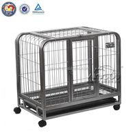 aluminum dog cage & chain link dog kennel panels & iron fence dog kennel