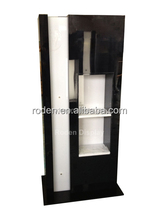 Acrylic Flooring Wine Bottles Display Rack /Free Standing Wine Display Shelf/Retailed Bottle Displays