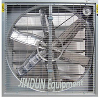 Industrial belt-driven wall mounted ventilator air fan blower