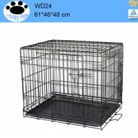 Cage Pet Dog Crate Kennel Cat Folding next day delivery dog cages