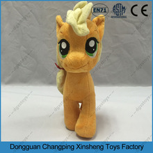 Dongguan OEM Factory, Plush Toy Cute stuffed Animal Little Pony. Pass ASTM / EN71