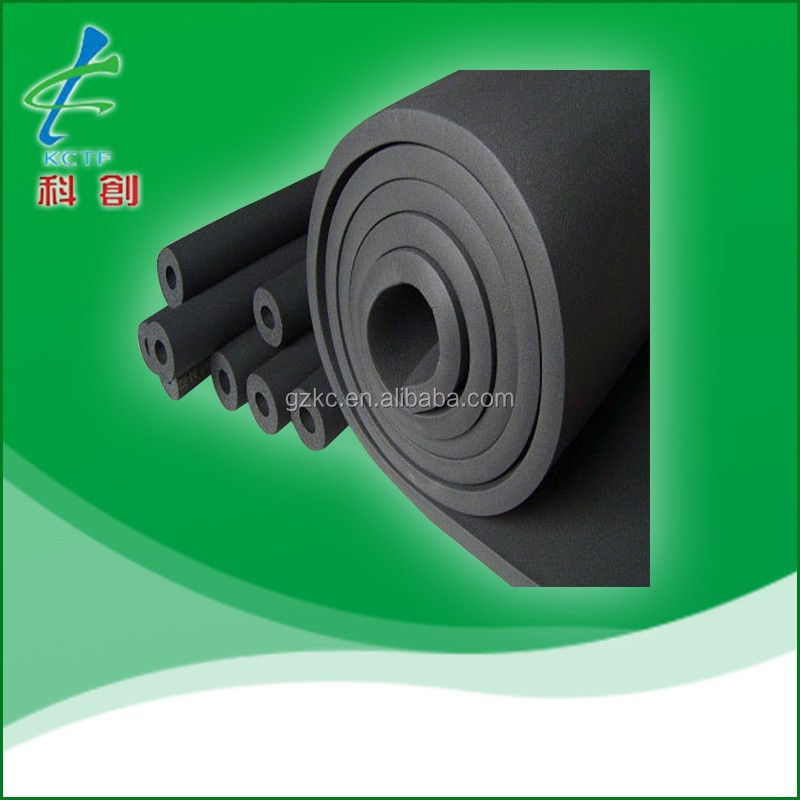 heat resistant NBR rubber foam thermal insulation material