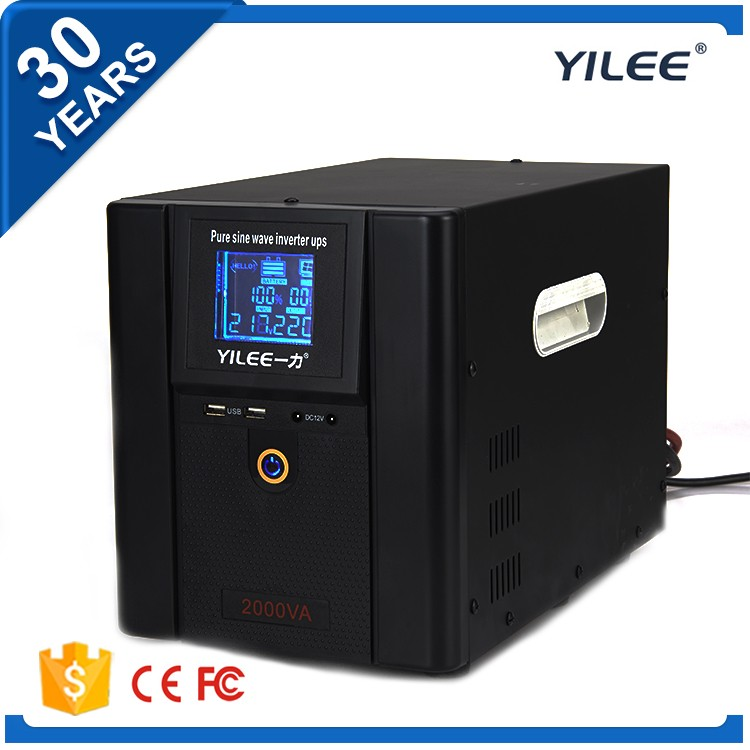 50Hz / 60Hz frequency pure sine wave china ups 2000 watts