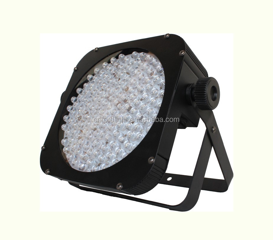 China LED Par Can Light DMX512 144PCS RGBAW LED Flat Par Can Light