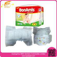 Machine Manufacturing cheap diapers Disposable Baby Diaper with free samples in bales diapers from china