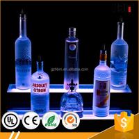 RGB acrylic LED shelf display