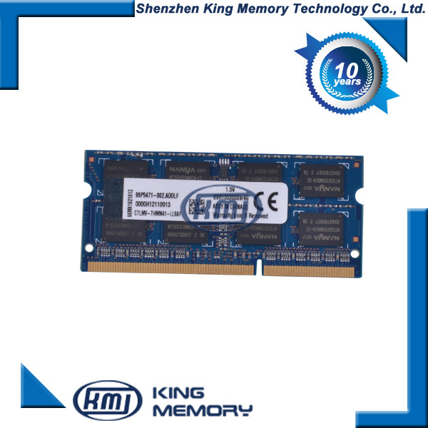 china manufacturer king memory ram memory laptop ddr3 1333 4gb pc10600 4g