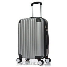 2017 new 3 pcs luggage travel set bag ABS PC trolley suitcase