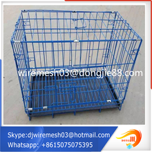 metal mesh outdoor decorating small animal pet cages customized