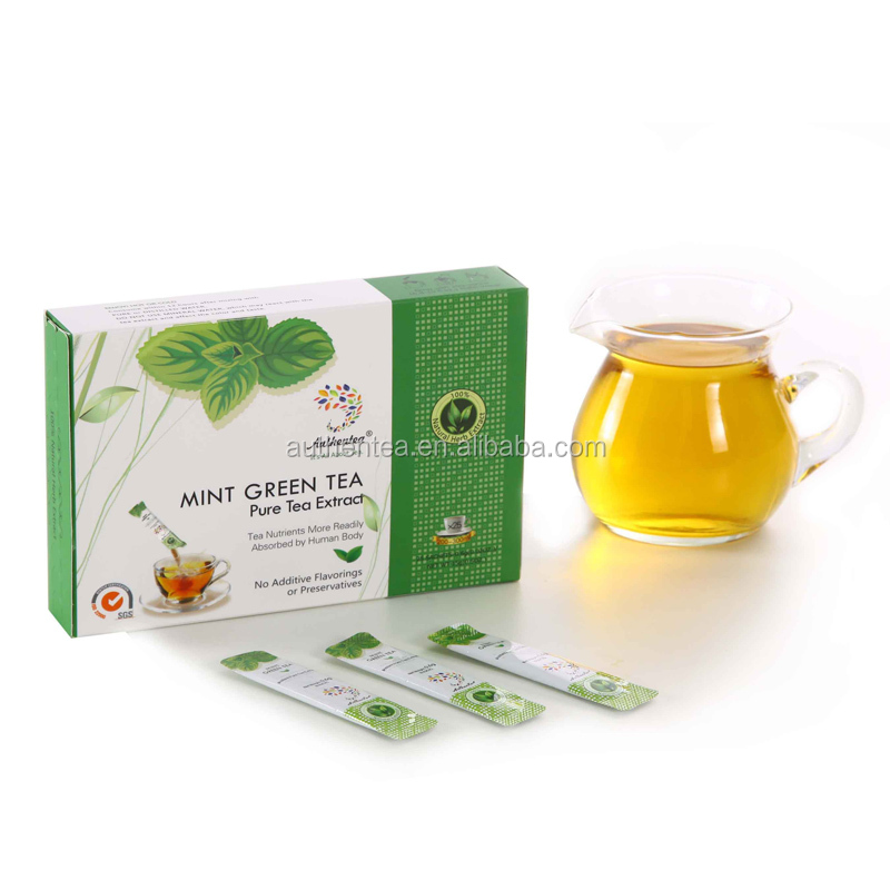 Nature Herbal Extract Instant Crystalized Powder Slimming Sex Green Tea