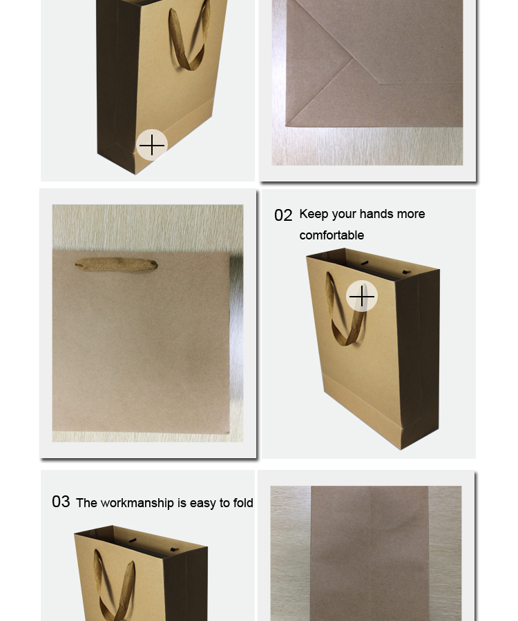 Get $1000 to Custom Shopping Brown Kraft Recycled Paper Bag