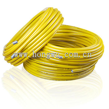 stainless steel flexible cooker gas hose in coils