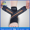 Double elastic strap, orthopedic stretch neoprene, breathable colored elastic Ankle support