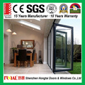 Hot sale apartment projects interior aluminum bifold door