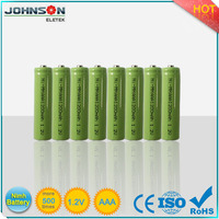 nimh battery pack aa 2000mah 1.2v rechargeable nimh battery AAA/AA/A/SC/C/D/F