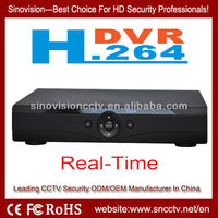 low price cms h.264 4ch/8ch/16ch network hardware compression dvr