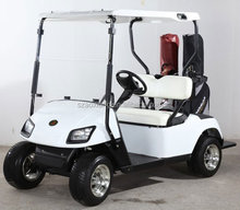 Powered electric police golf cart