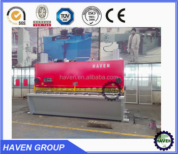 QC11Y-12x6000 CNC Hydraulic Shearing Machine , Hydraulic metal cutting machine