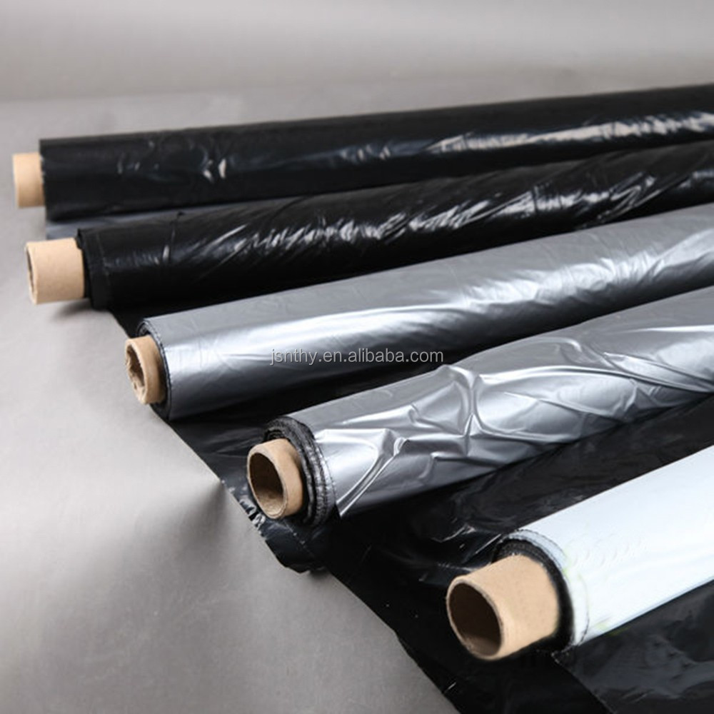2015 New Products Black Plastic Mulch Film For Agriculture