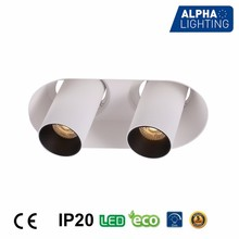 2017 2*7w led downlights ip20 office hotel shopping mall led light