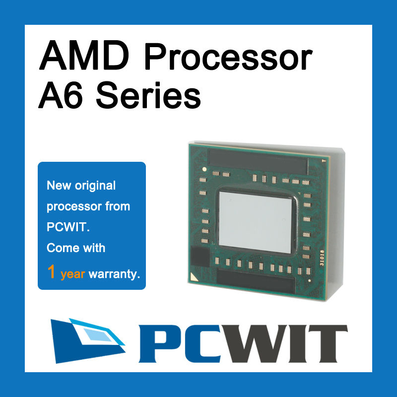 Brand New AMD Quad Core A6 3420M APU with Radeon HD 6520G processor AM3420DDX43GX 1.5 GHz CPU wholesale retail