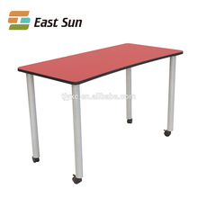 2017 hot style school desk design cover and chair in China