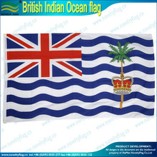 polyester British Indian Ocean flag