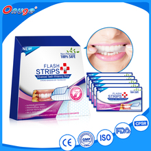 white teeth whitening strips Dry strips, mint flavor