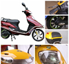 2016 Powerful Adult Portable Electric Scooter with seat 500W CE certificate for sale