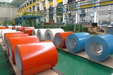 PPGI/embossed prepainted galvanized steel coil,color coated steel embossed surface
