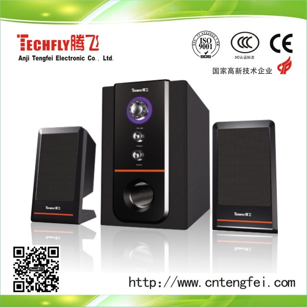 2.1 subwoofer speaker with usb/sd/fm/remote for computer,DVD,laptop,PC/2.1 channel Hi-Fi speaker/2.1 Home Theater System speaker