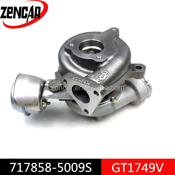 Aftermarket GT1749V turbine gt1479v turbo 717858-5009S for Superb Tdi engine