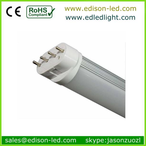 2g11 4pin Base Type 327mm 1400lm Clear Lens 12w 2g11 Led Tube Light