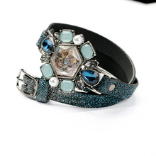 Wholesale Shell Charm Stock Leather Bracelets