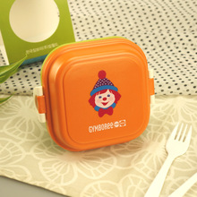 Wholesale Portable Kids Cute Lunch Box Food Storage Container Plastic Bento Box
