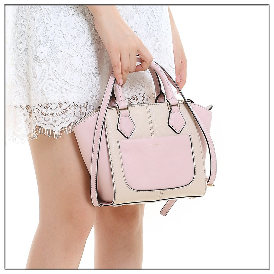 small jelly satchel top line genuine leather hand bags