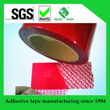 Tamper evident seal tape/Security void sticker for factory and important use
