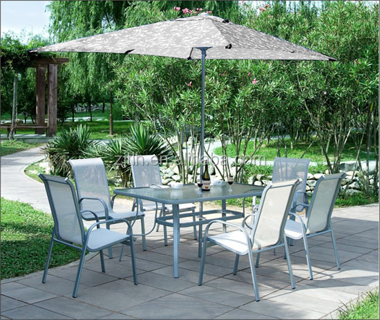 Glass Outdoor Furniture