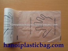 HDPE Flat bag on roll food high quality