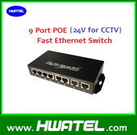 130w 45+/78- pin Passive POE Switch 24v 8 port for Mikrotik/UBNT wifi AP CPE Router
