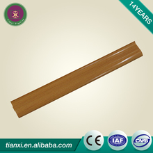 Decorative wood moulding skirting board, pvc kitchen skirting board