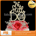 50th Wedding Anniversary GOLD We Still Do cake topper rhinestone